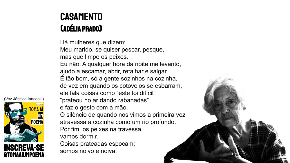 adelia prado casamento poesia brasileira