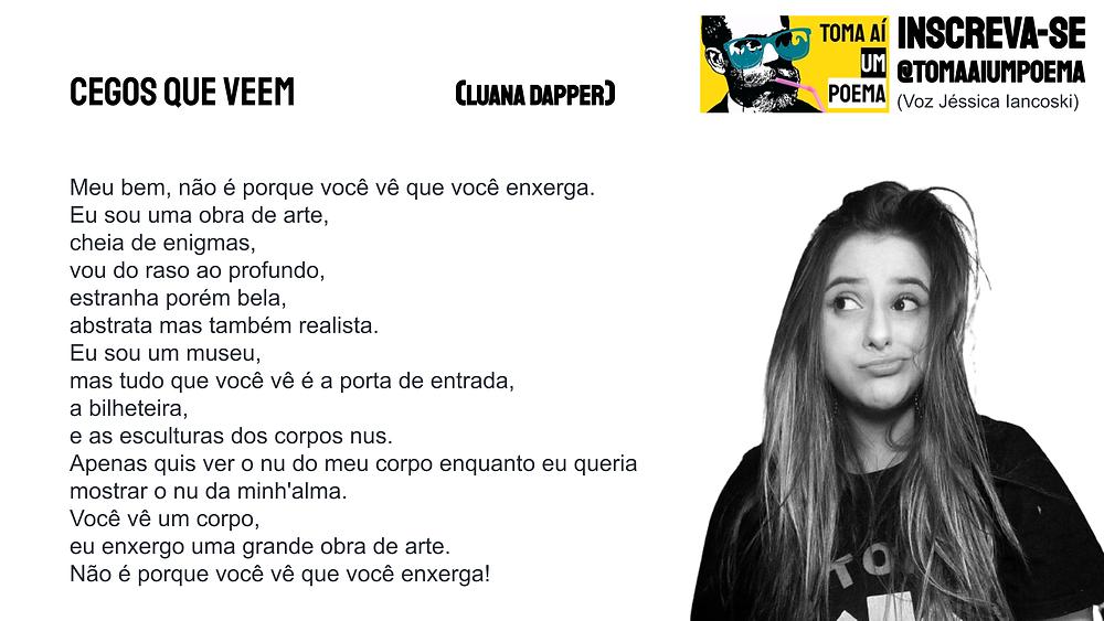 Poema de Luana Dapper InstaPoesia