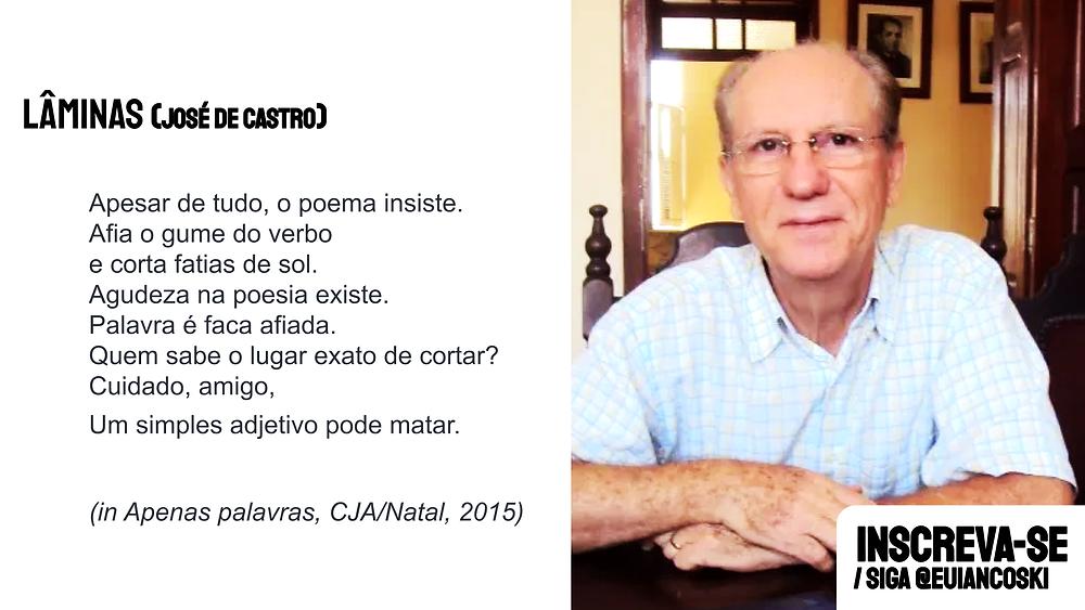 poesias brasileiras josé de castro