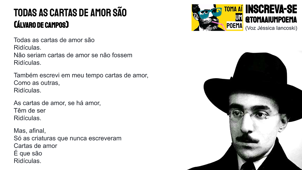 todas as cartas de amor sao ridiculas