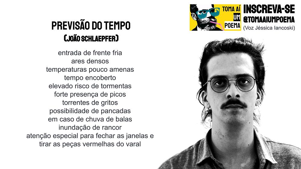 nova poesia brasileira João Schlaepfer