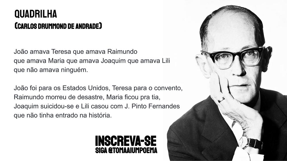 Carlos Drummond de Andrade poemas
