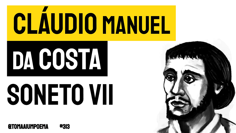 Claudio  manuel da costa soneto vii