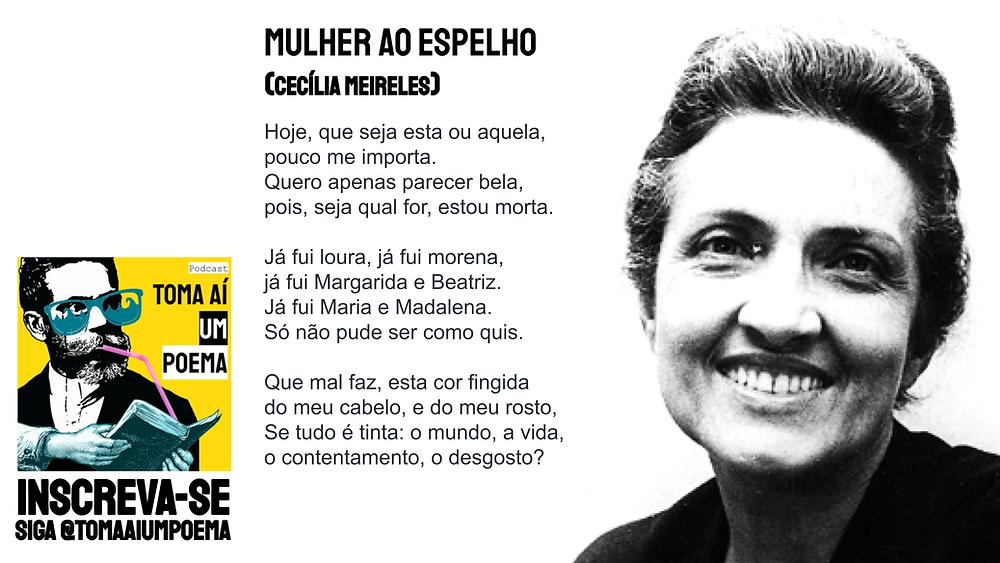 Cecília meireles poesia brasileira mulher ao espelho