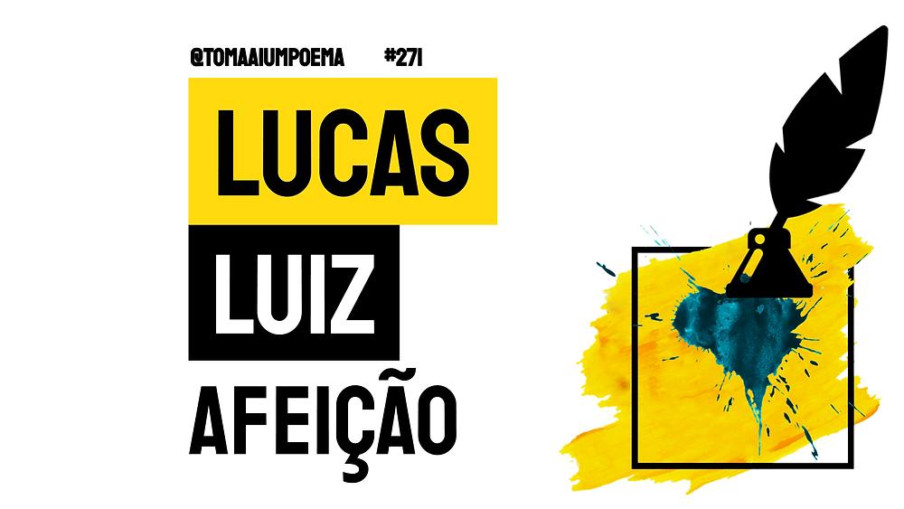 nova poesia brasileira lucas luiz afeição