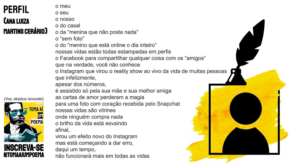 nova poesia brasileira ana luiza martins cersario