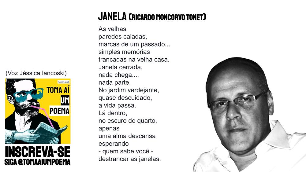 Poema de Ricardo Moncorvo Tonet Janela