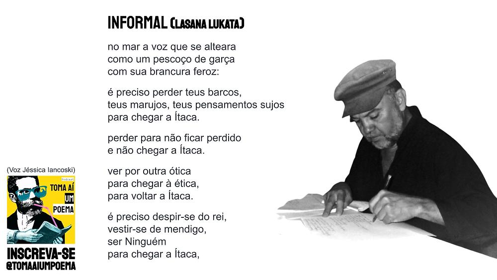 poema de lasana lukata informal