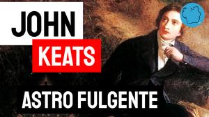 John Keats estrela brilhante astro fulgente