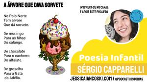 poesia infantil a árvore que dava sorvete