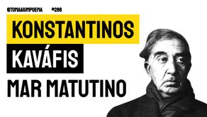 Konstantinos Kaváfis - Poema Mar Matutino | Poesia Grega