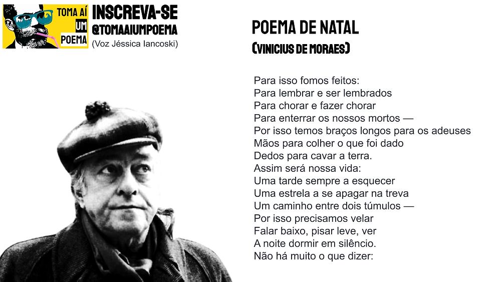 poema de natal vinicius de moraes