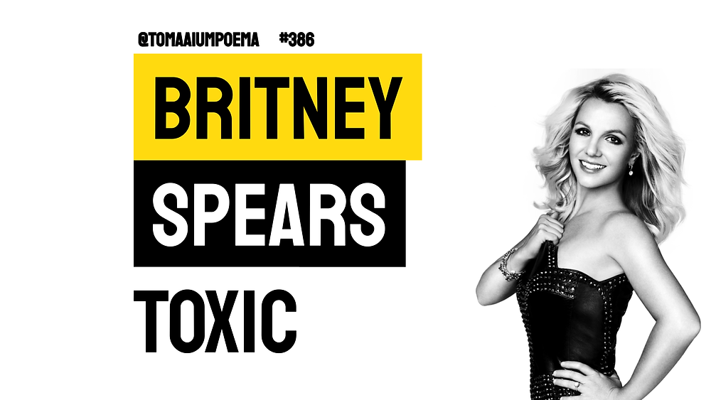 britney speats toxic traducao