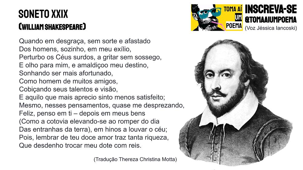 soneto XXIX william shakespeare