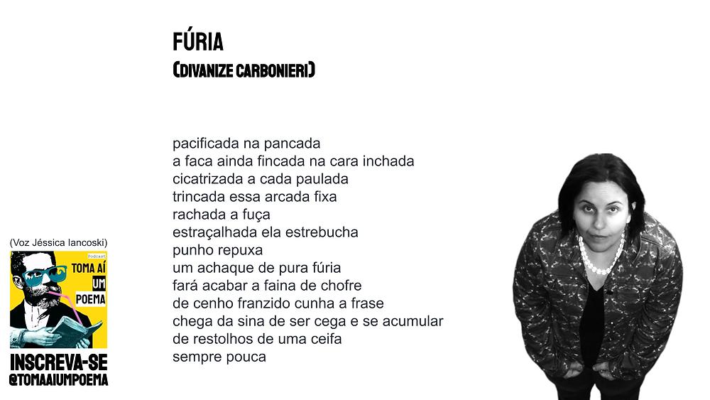 poema de Divanize Carbonieri