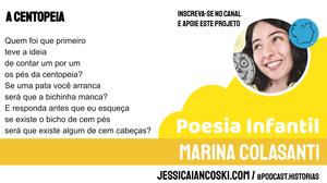 Marina colasanti poemas a centopeia