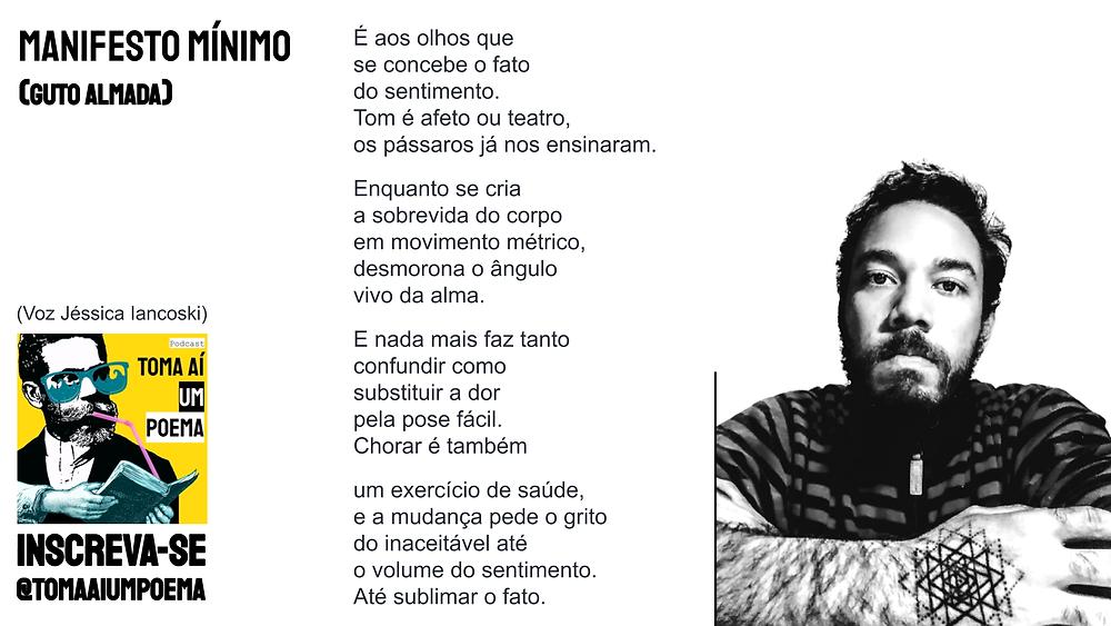 nova poesia brasileira manifesto minimo