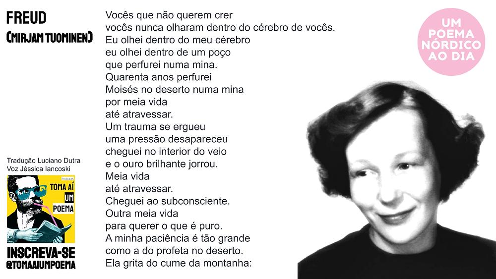 Poema de Mirjam Tuominen Freud