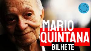 Poema Mario Quintana Bilhete