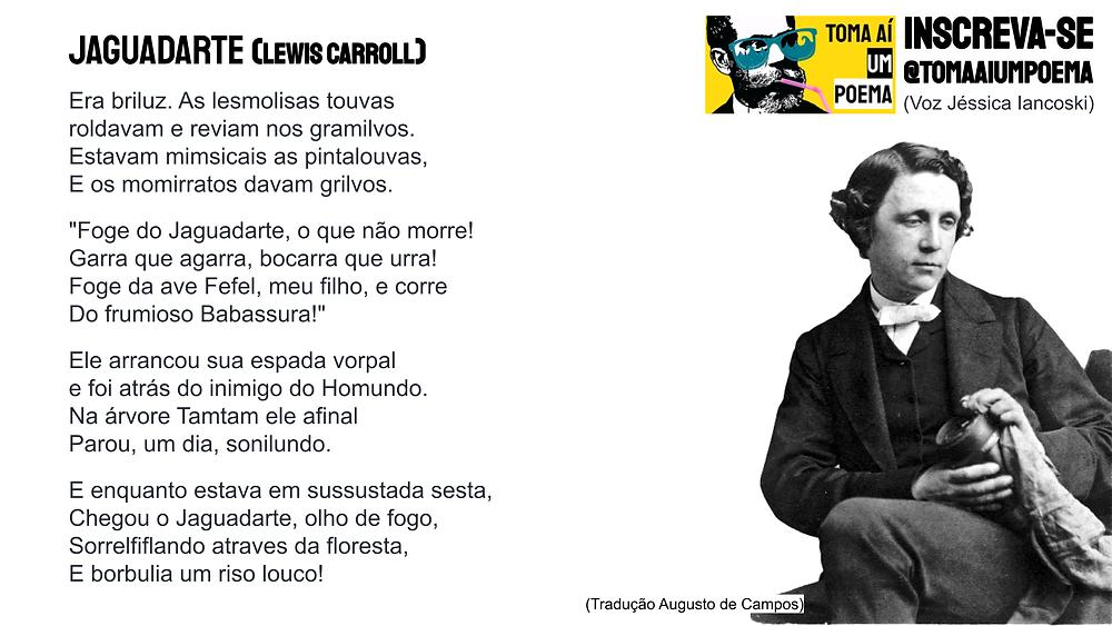 poema de lewis carroll jaguadarte
