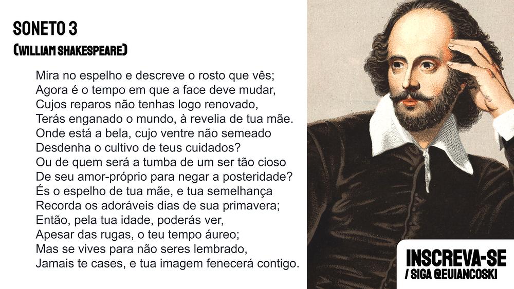 william shakespeare soneto