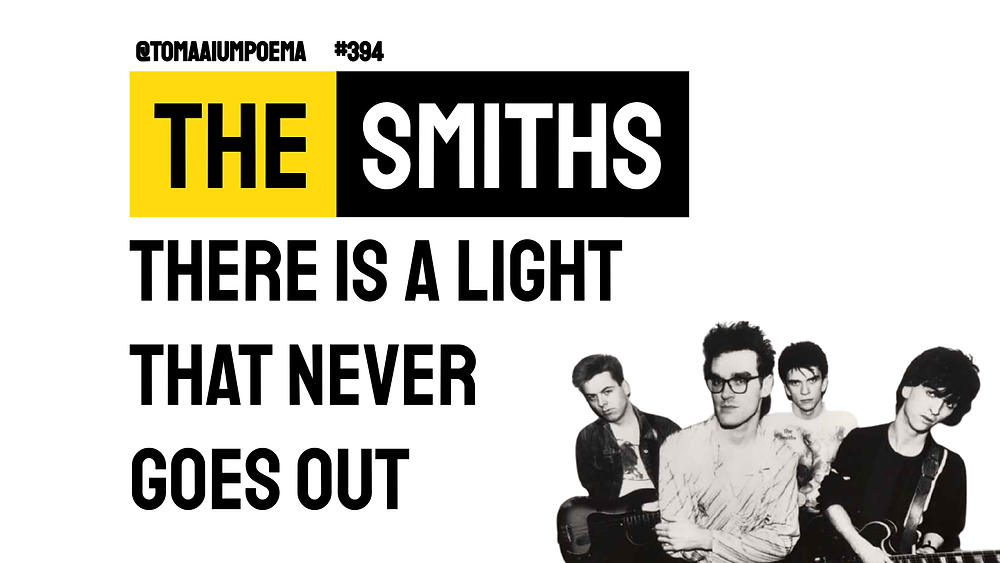 the smiths there is a light that never goes out