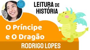 Historia infantil dragão principe