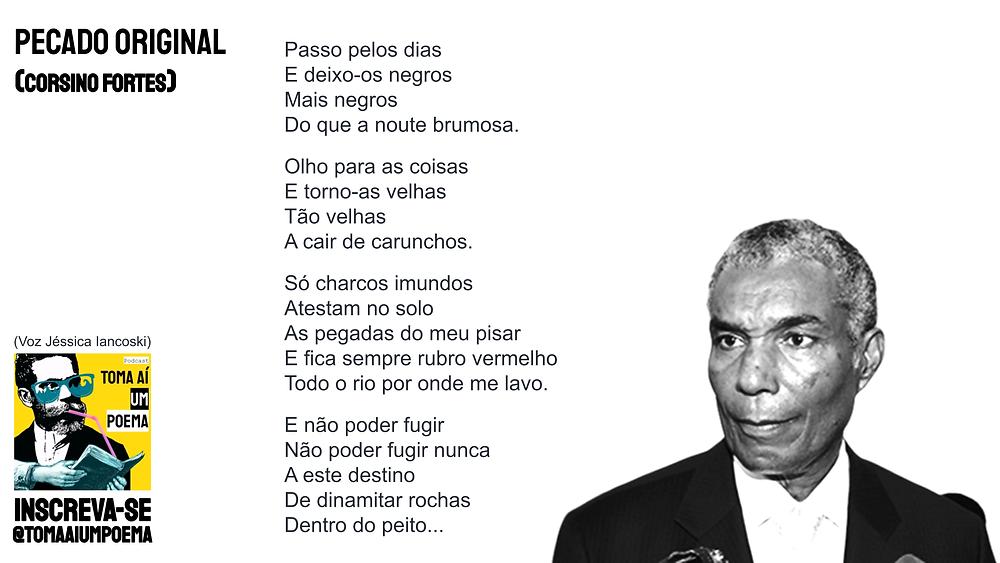Poema de Corsino Fortes Pecado Original