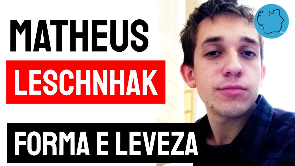 Novos autores de poesia matheus leschnhak