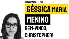 Géssica Maria Menino - Bem-vindo, Christopher! | Nova Poesia