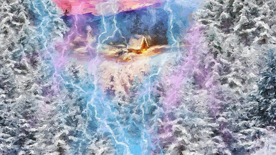 ira de perun deus floresta