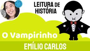 O Vampirinho - Emílio Carlos   Historinha de Terror