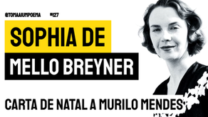 Sophia de Mello Breyner Andresen - Carta de Natal a Murilo Mendes | Poesia Portuguesa