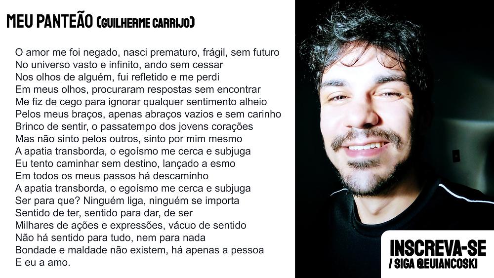 Guilherme carrijo poemas novos poetas