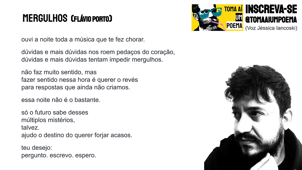 flavio porto poesia brasileira atual