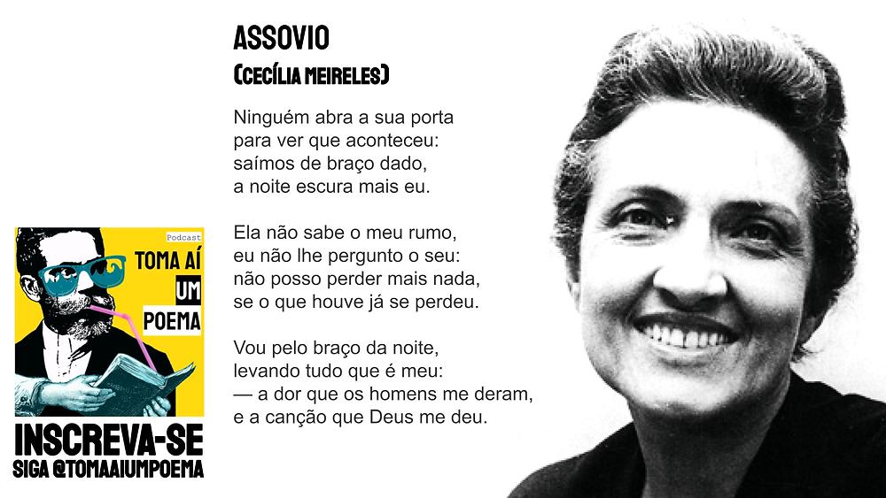 Cecília meireles poesia brasileira assovio