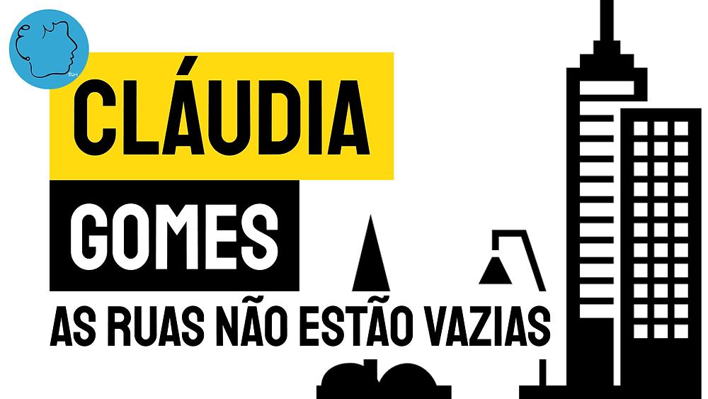 As ruas não estao vazias poesia brasileira