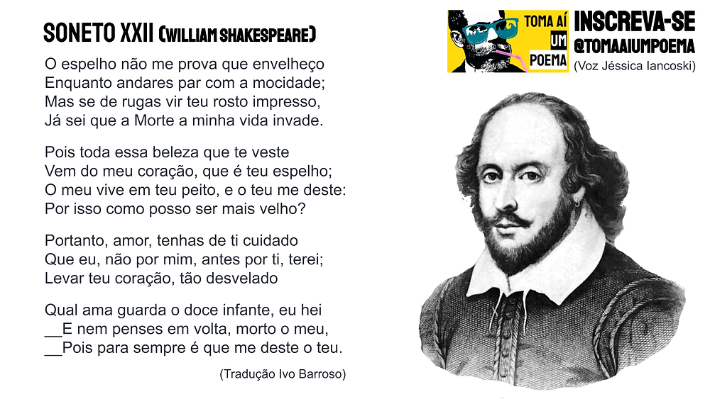 soneto xxii william shakespeare