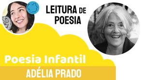 Adélia Prado - Poema Esperando Sarinha   Poesia Infantil Declamada