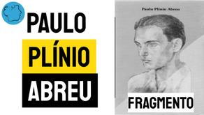 Paulo Plínio Abreu - Poema Fragmento | Poesia Brasileira