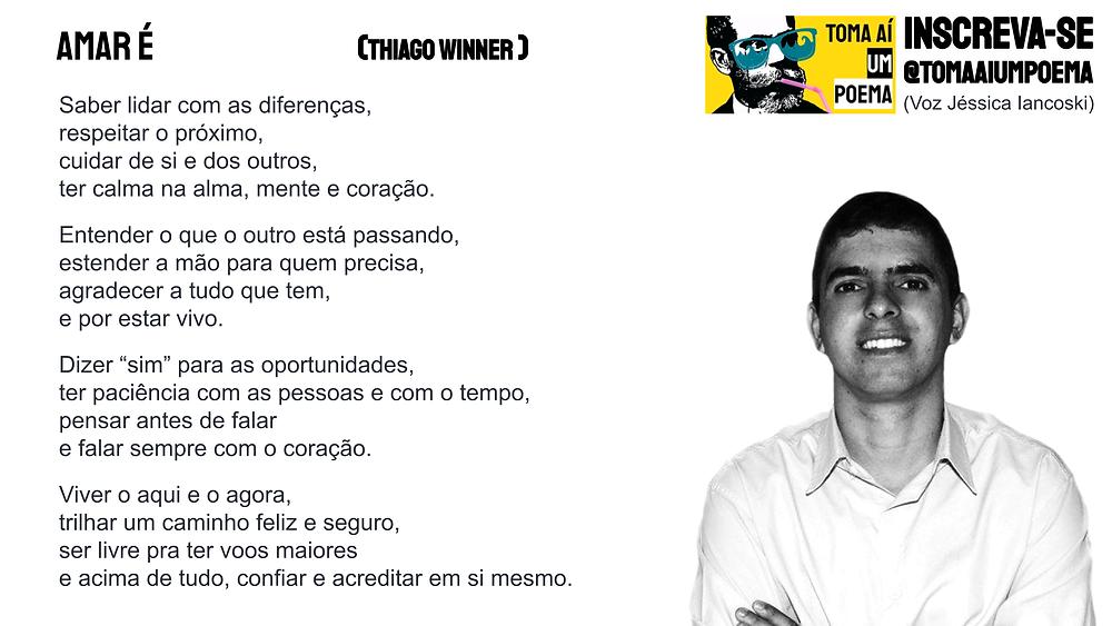 Thiago Winner Amar É poema
