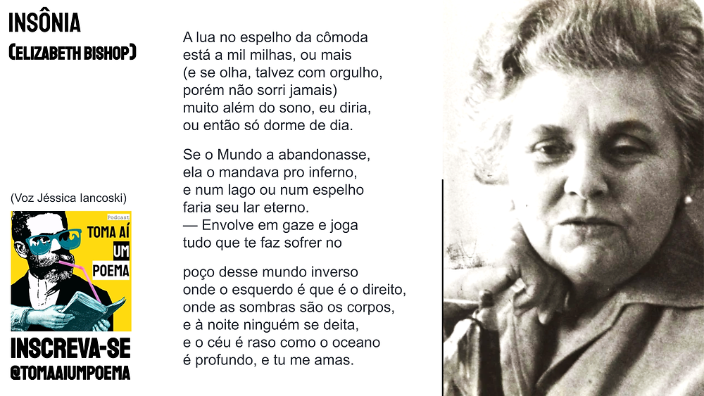 poema de elizabeth bishop insonia