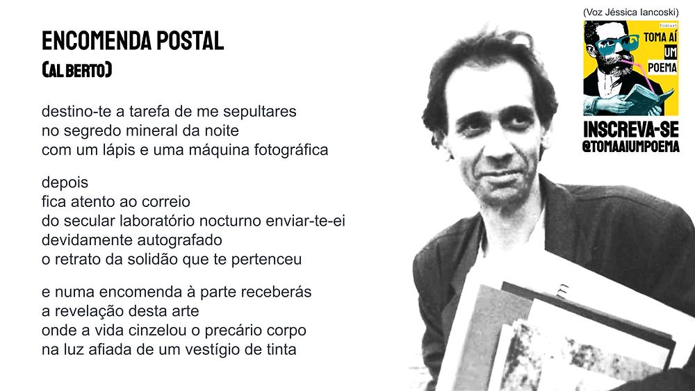 poesia portuguesa al berto encomenda postal