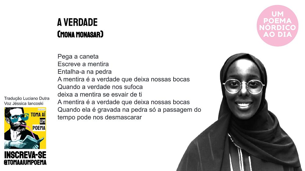 A Verdade Poema de Mona Monasar