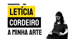 Letícia Cordeiro - Poema A Minha Arte | Nova Poesia