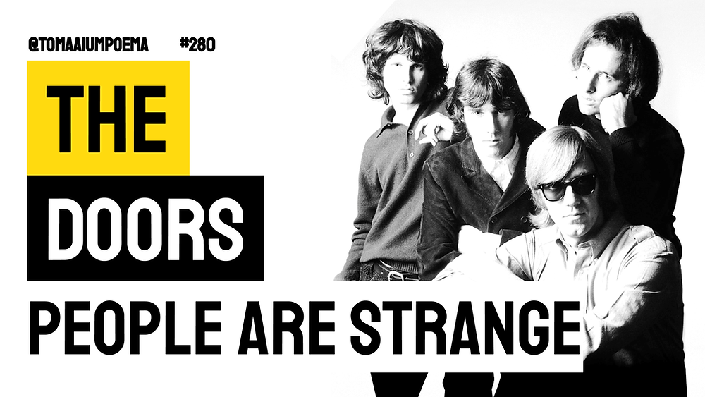 people are strange the doores letra