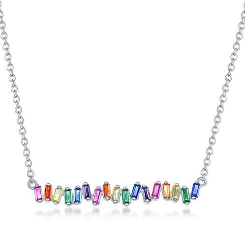 Rainbow Dancing Bead Pendant