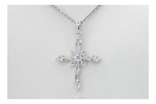 Sparkle Diamond Cross Pendant