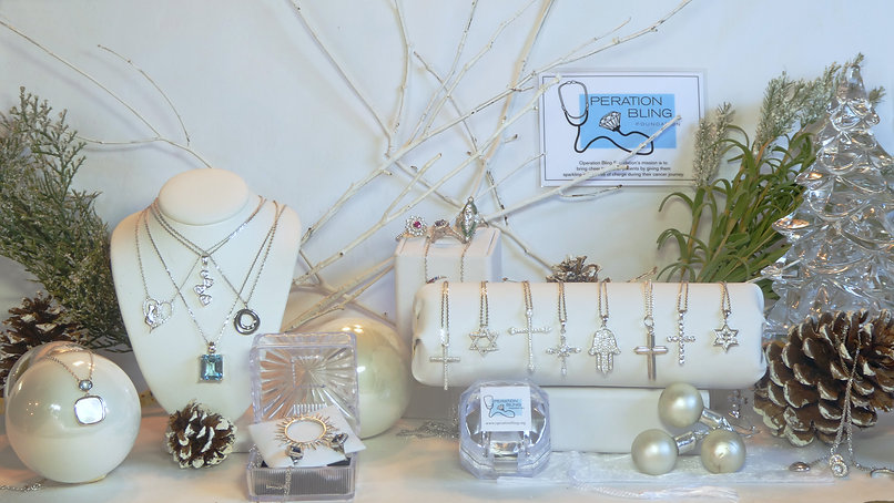 Operation Bling holiday jewelry for cancer patients
