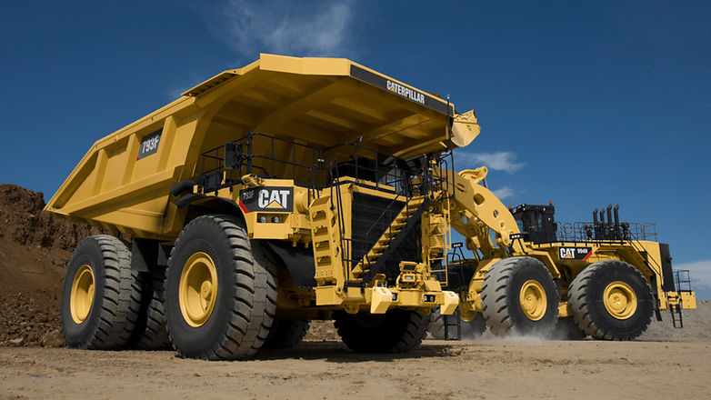 Cat_793F_mining_truck_being_loaded_by_Ca